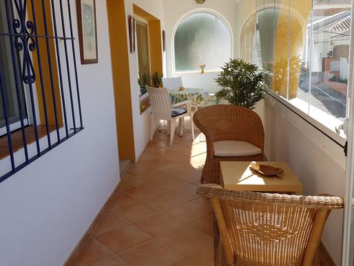 """die Villa """"Casa del Sol"""" mit neuem Wintergarten"""