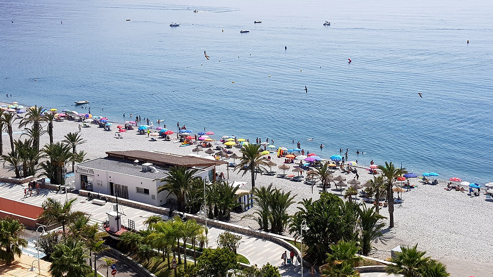 Playa Velilla Almunecar