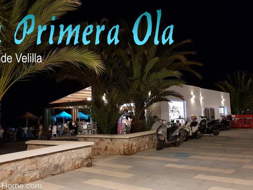 """Das Chiringuito / Restaurant """"Primera Ola"""" am Playa Velilla bleibt bis Ende November offen!"""