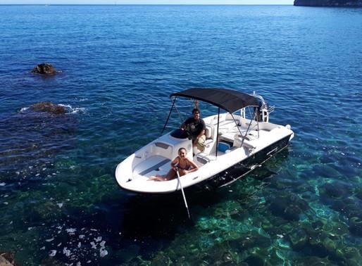...Miete Dir ein Boot und schau dir die tolle Landschaft mal vom Meer aus an!