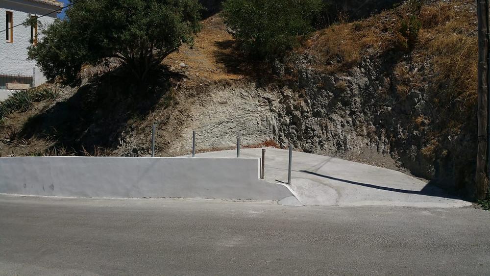 Parkplatz am Casa del Sol