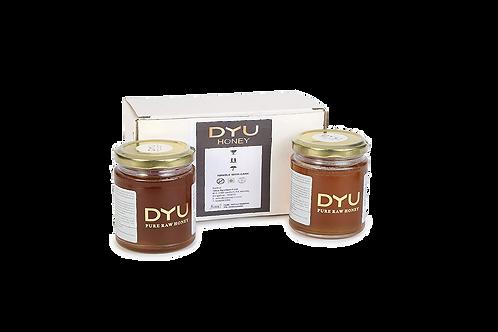 DYU Pure Raw Honey - 225g Twin pack - Main Product Image