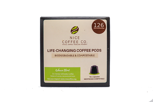 Box of 200 - Biodegradable Coffee Pods (Nespresso Compatible)