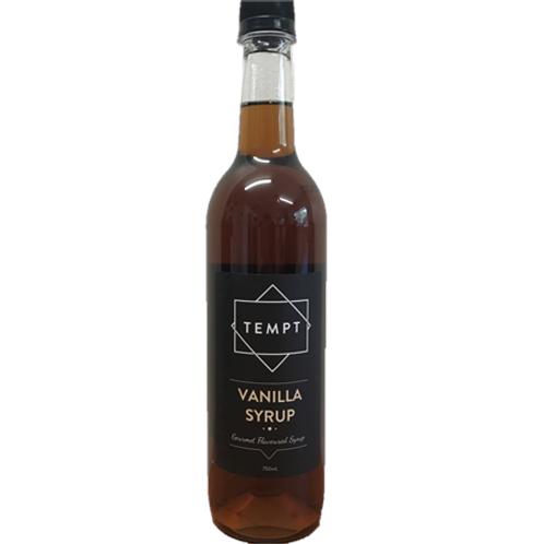 TEMPT Vanilla Syrup