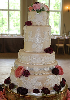 how to bake wedding cake from the scratch le gateau wedding cakes by sue larson in columbus ohio 15584