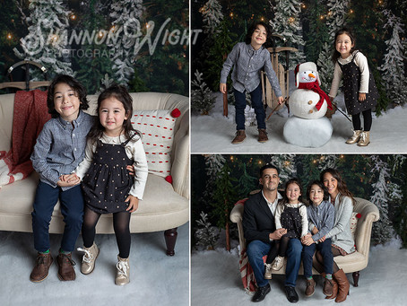 Sneak Peek | San Jose Christmas Photography
