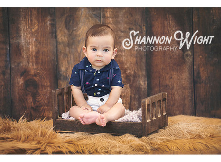 Sneak Peek | San Jose 6 Month Photography