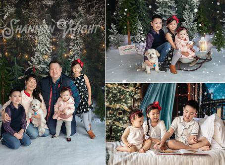 Sneak Peek | San Jose Christmas Photography