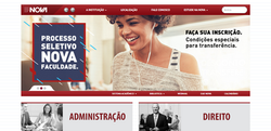 Nova Faculdade Website