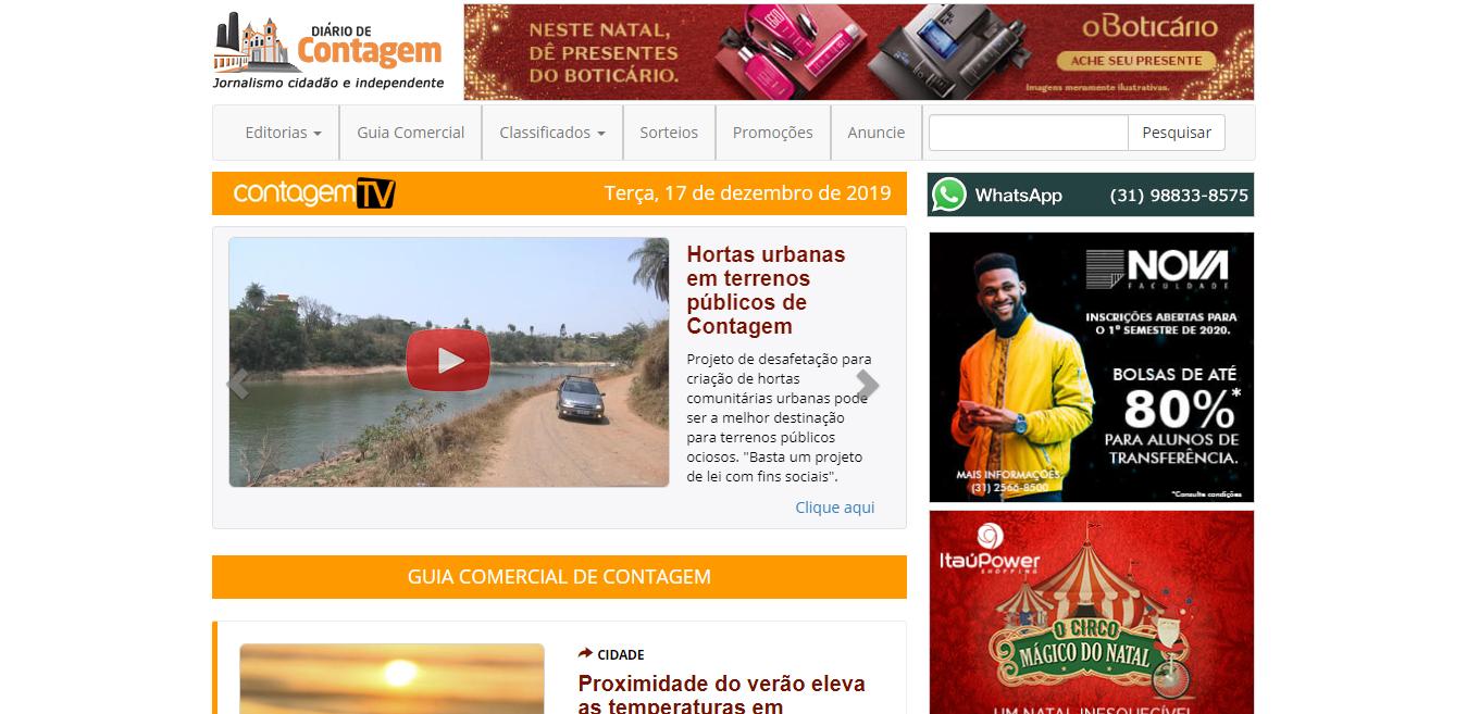 Jornal Diário de Contagem