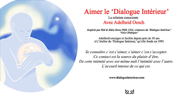 Aimer le «Dialogue Intérieur» INTRO.001