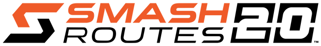 Smash Routes 20 Logo (Orange & Black + T