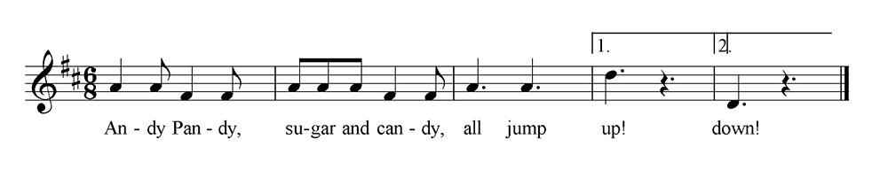 Andy Pandy Sheet Music