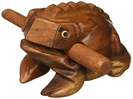 Frog guiro