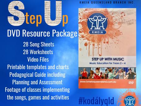 Step Up - KMEIA's new DVD