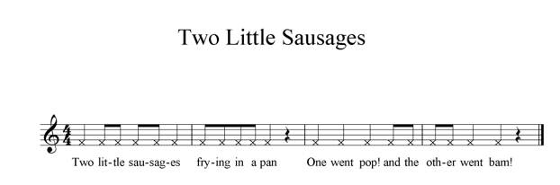 Two Little Sausages Chant