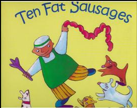 Ten Fat Sausages Book