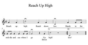 Reach Up High Sheet Music