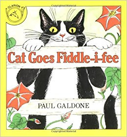 Cat Goes Fiddle-i-Fee book