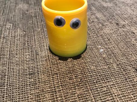 DIY Slinky Puppets