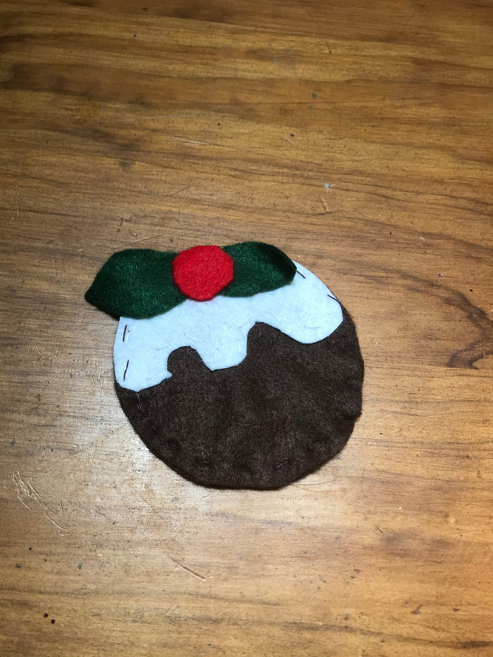 Christmas Pudding Felts