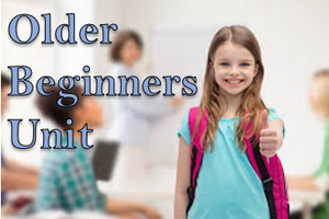 Older Beginners Unit