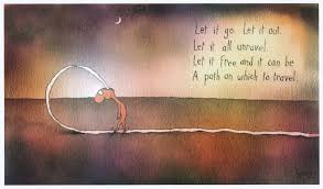 Let It Go, let it out, let it all unravel - Leunig