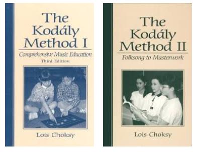 Choksy Kodaly Method 1 & 2