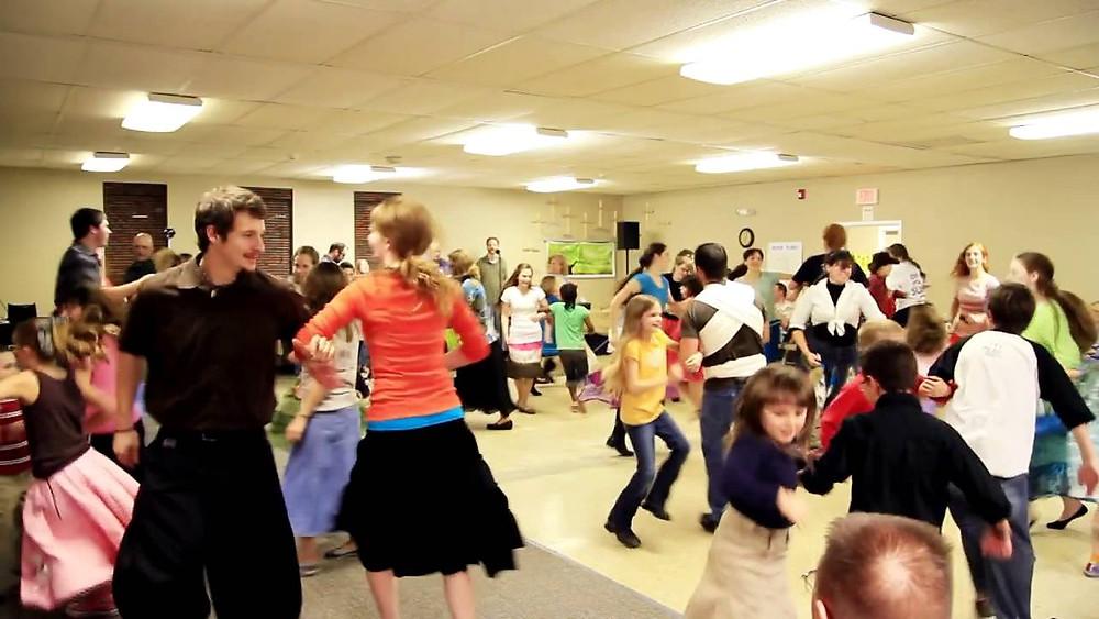 Sasha mixer dance