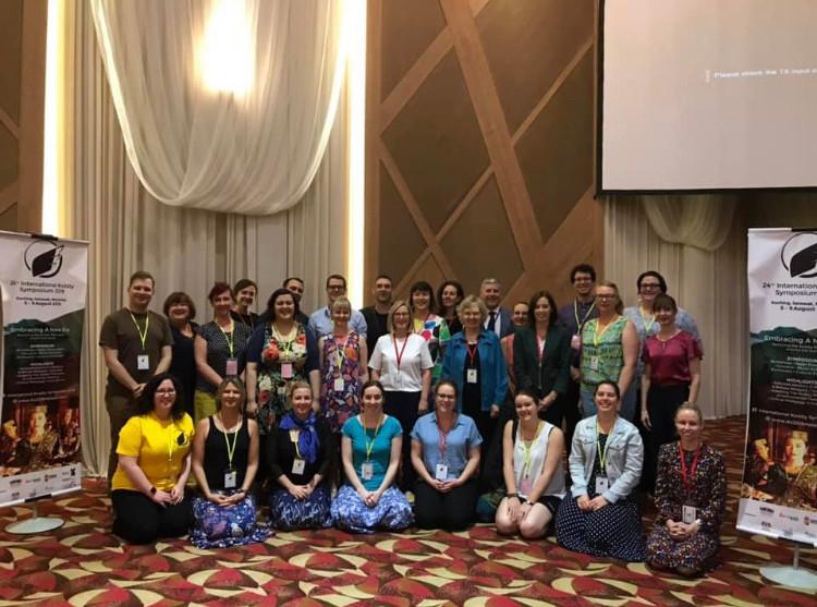 Australian IKS2019 delegates