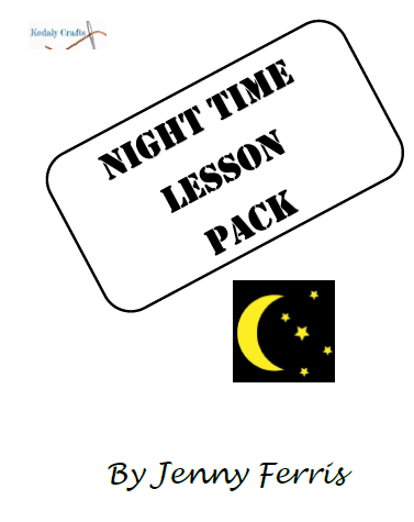 Night Time Lesson Pack