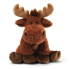 Moose soft toy