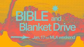 Bible & Blanket Drive.jpg