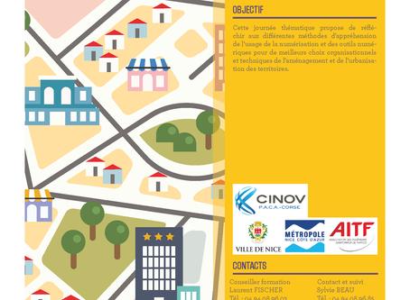 Journée d'actualité numérisation et urbanisation du territoire