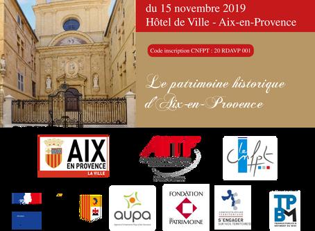 AIX-EN-PROVENCE,UN PATRIMOINE HISTORIQUE EXCEPTIONNEL ET REMARQUABLE