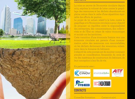 Colloque Économie Circulaire Gestion et valorisation des déchets du bâtiment