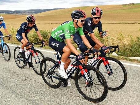 Richard Carapaz es el 'rey de la montaña' en la Vuelta a España