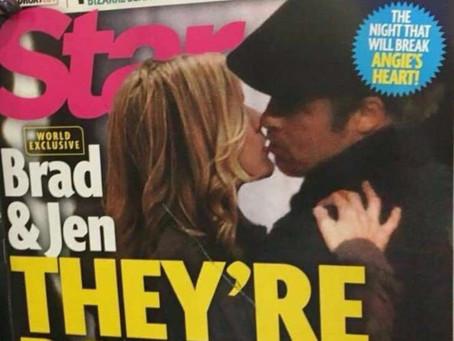 La historia real de la foto de Jennifer y Brad