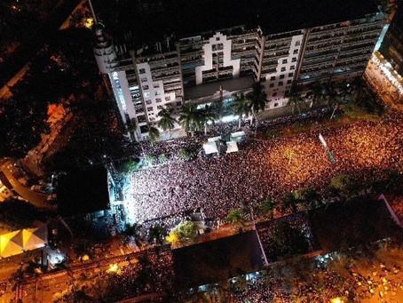 Más de 100 mil espectadores en el concierto de Karol G en Medellín