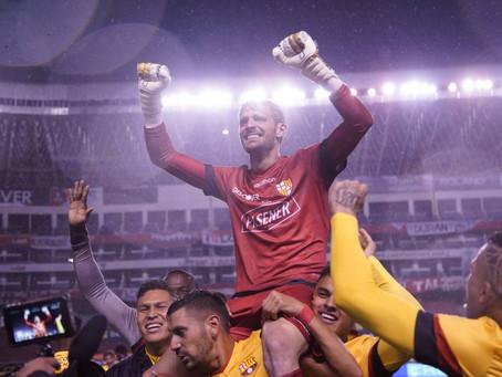 Javier Burrai, el héroe del Barcelona SC campeón 2020