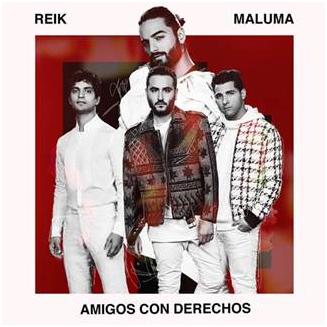 """Reik estrena su nuevo sencillo: """"Amigos con Derechos"""" en colaboración con Maluma"""