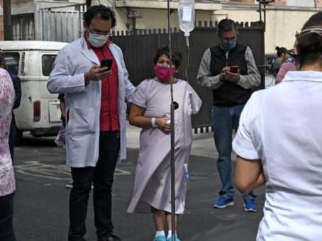 Terremoto en México de 7.5 grados genera alerta de tsunami