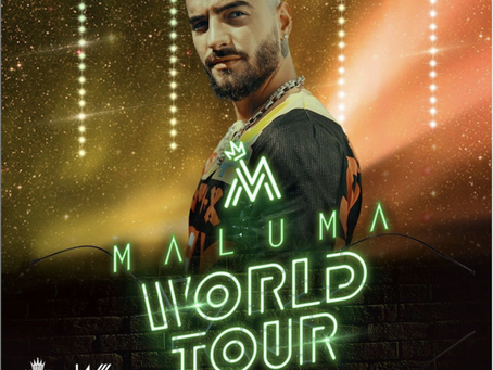 Maluma en Guayaquil en su 11:11 World Tour