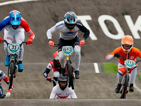 Alfredo Campo logra quinto lugar en BMX Racing en los Juegos Olímpicos de Tokio