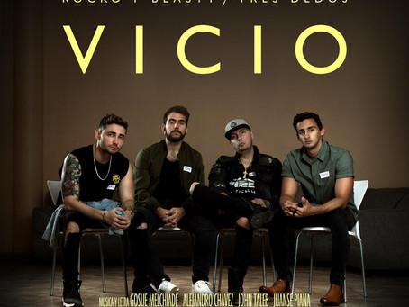 """Los dúos de pop urbano Rocko y Blasty - Tres Dedos presentan """"Vicio"""""""