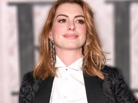 Anne Hathaway dejó el alcohol por sus grandes resacas