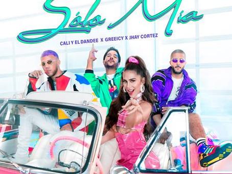 """Cali y El Dandee, Greeicy y Jhay Cortéz se unen para lanzar """"Solo Mía"""""""