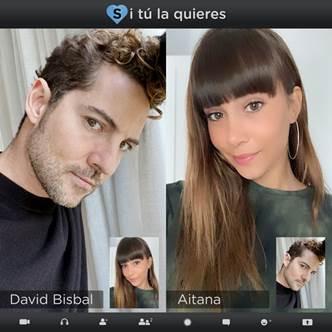 """David Bisbal invita a Aitana a unirse a cantar una nueva versión de su canción  """"Si tu la Quieres"""""""