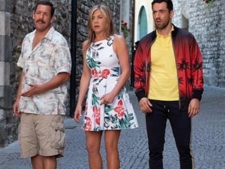 Netflix publica trailer oficial de película de Jennifer Aniston y Adam Sandler