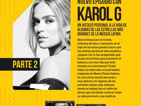 """Nuevo episodio Parte 2 con Karol G en la serie original de podcast """"On the go"""""""